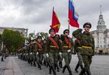 В Воронеже первую репетицию парада Победы увидели более 5000 горожан