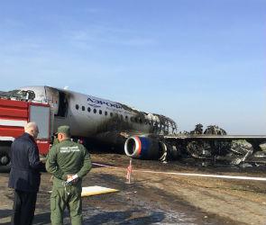 Сгоревший в Шереметьеве самолет был в Воронеже за день до трагедии