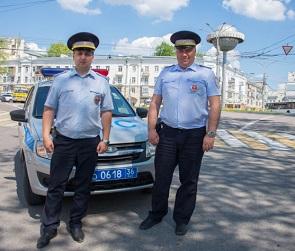Сбитая неизвестным водителем пенсионерка из Воронежа поблагодарила полицейских