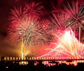 Онлайн-трансляция праздничного салюта в честь Дня Победы в Воронеже
