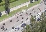 Опубликовано видео масштабного мотопробега в Воронеже