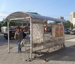 Воронежцев «порадовали» пугающей остановкой на улице Владимира Невского