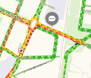 Водители в пробках из-за перекрытия улицы Обручева взывают о помощи