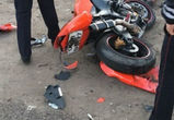 В Воронеже в ДТП погиб мотоциклист, ранена пассажирка