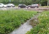 В Воронеже грунтовые воды затопили  Петровскую набережную (ФОТО)