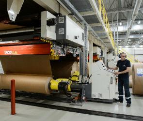 Завод по производству гофрокартона открыли под Воронежем