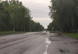 На Петровской набережной вода ушла в ливневую канализацию