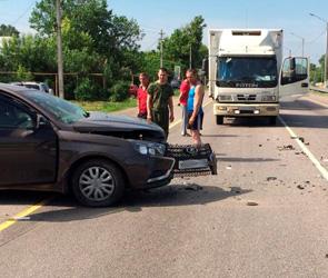 Трое детей и водитель пострадали в крупной аварии в районе Лосево под Воронежем
