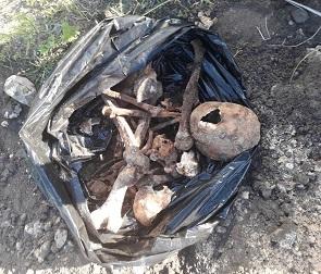 В Воронеже раскопали старинное кладбище у храма ради строительства дома