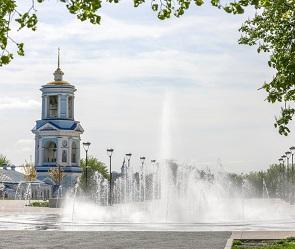 Мэрия Воронежа сообщила об изменении режима работы фонтана на Советской площади