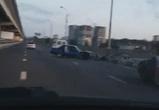 Три человека пострадали в ночном ДТП на Северном мосту