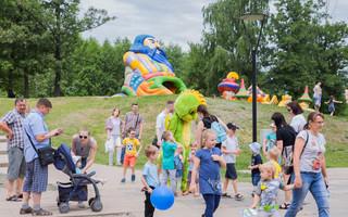 Семейный фестиваль «Много молока» в парке «Алые паруса»