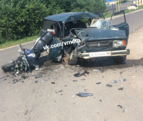 В страшной аварии под Воронежем погиб 31-летний мотоциклист