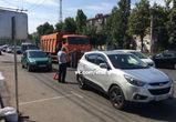 Улица 20-летия Октября парализована из-за ремонтных работ и ДТП