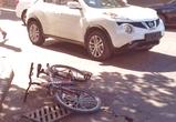 В Воронеже на переходе Ниссан сбил юного велосипедиста, мальчик в больнице: ФОТО