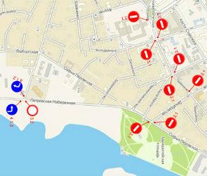 В Воронеже 5 июля в час пик перекроют Петровскую набережную
