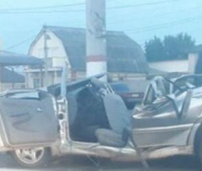 Шокирующие кадры момента ДТП с тремя погибшими в Лисках появились в Сети