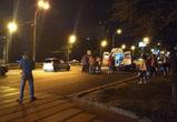 Водителя, сбившего пешехода на Московском проспекте, нашли по обломкам машины