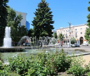 Фонтан на проспекте Революции в Воронеже отключат на неделю