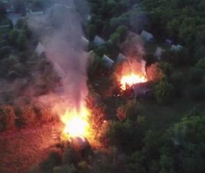 Под Воронежем в детском лагере произошел пожар