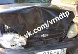 Опубликовано видео и фото массового ДТП с пятью машинами на парковке в Воронеже
