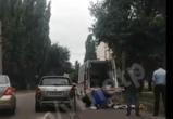 В Воронеже на левом берегу «Шкода» сбила девушку (ФОТО, ВИДЕО)