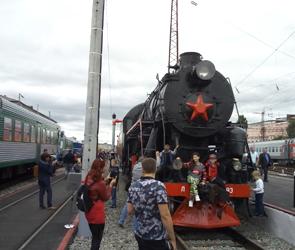 На вокзале Воронеж-1 открылась уникальная выставка ретро-поездов (ФОТО)
