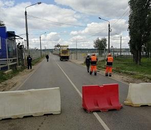 В Воронеже закрыли мост через водосброс водохранилища
