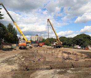 Площадь Победы в Воронеже откроется после реконструкции к 9 мая