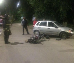 В Воронежской области автомобилистка сбила 16-летнего мотоциклиста