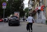 В Воронеже оштрафовали припарковавшегося на тротуаре водителя