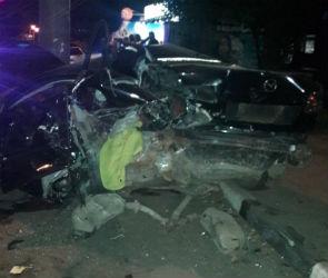 Три человека ранены в массовом ДТП на левом берегу Воронежа