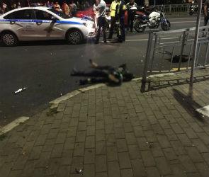 В центре Воронежа разбился 23-летний мотоциклист