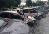 В Воронеже ищут очевидцев поджога машин на улице Лизюкова