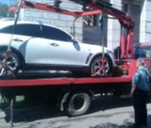 В Воронеже три автомобиля премиум-класса арестовали за долги по штрафам ГИБДД