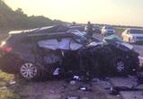 Шесть человек, в том числе подросток, ранены в ДТП на М-4 под Воронежем (ФОТО)