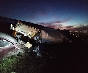 В массовом ДТП под Павловском погибли четыре человека