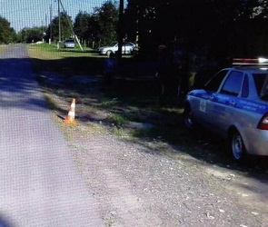 12-летний школьник на мотоцикле сбил 9-летнюю девочку под Воронежем