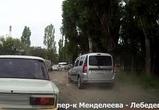 В Воронеже обочечника оштрафовали по видео в Сети