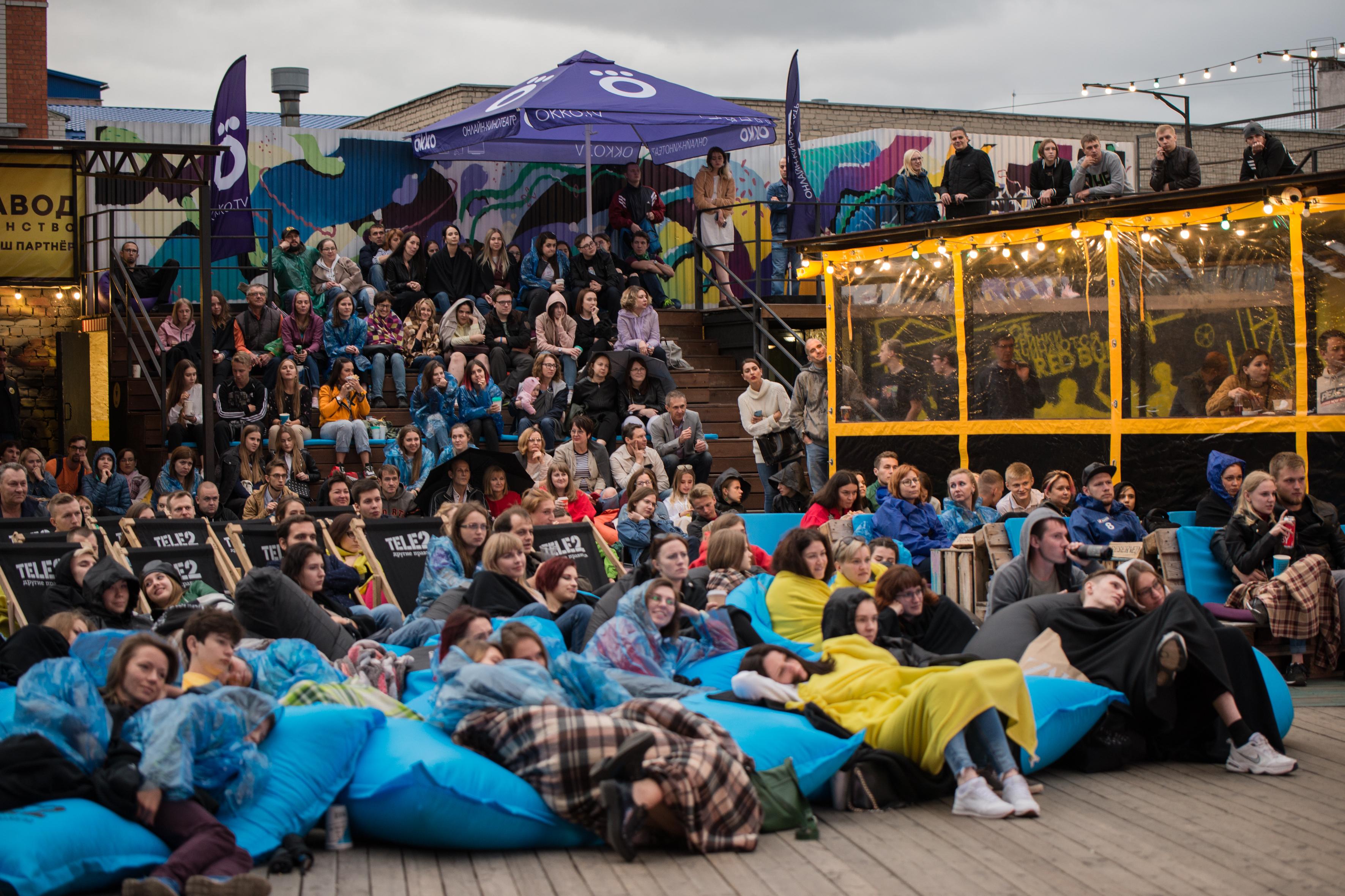 Как прошел фестиваль уличного кино