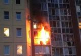 Из-за брошенной сигареты в Воронеже загорелась квартира