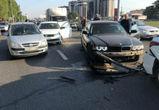 На Московском проспекте в Воронеже столкнулись шесть машин, есть пострадавшие