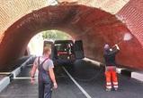 В Воронеже ремонтируют поврежденный грузовиком Каменный мост