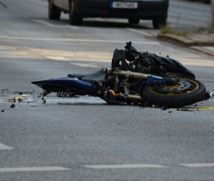 В Воронеже 19-летний мотоциклист пострадал в ДТП