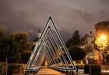 В Воронеже появился арт-объект в виде огромных треугольников – фото