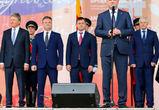Воронежцев с Днем города поздравили мэр и губернатор