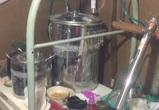 В воронежском гараже нашли лабораторию по производству амфетамина