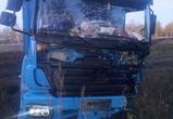 В Воронежской области столкнулись легковушка и фура: погиб один человек