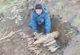 В Воронеже нашли 250-килограммовую бомбу