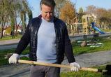 Вадим Кстенин поблагодарил воронежцев, принявших участие в субботнике